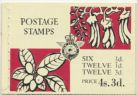 NZ Booklet SGSB25 4/3d Pictorial Booklet containing SG781, 782 & 785, stamp panes unnumbered